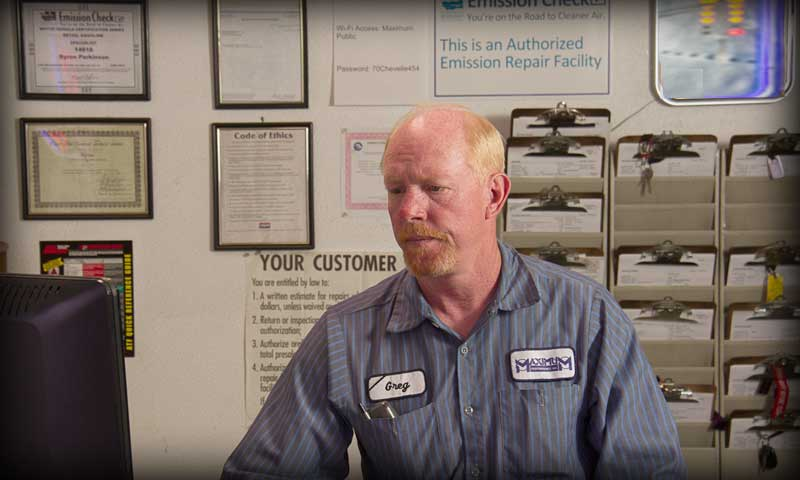 Puyallup Auto Repair Maximum Performance Front Office