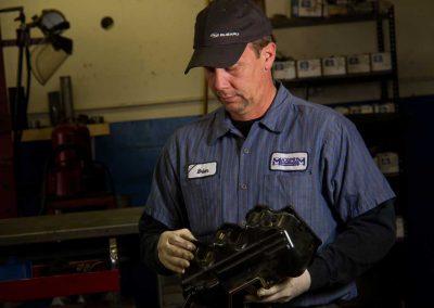Brian P. Assembling an Engine